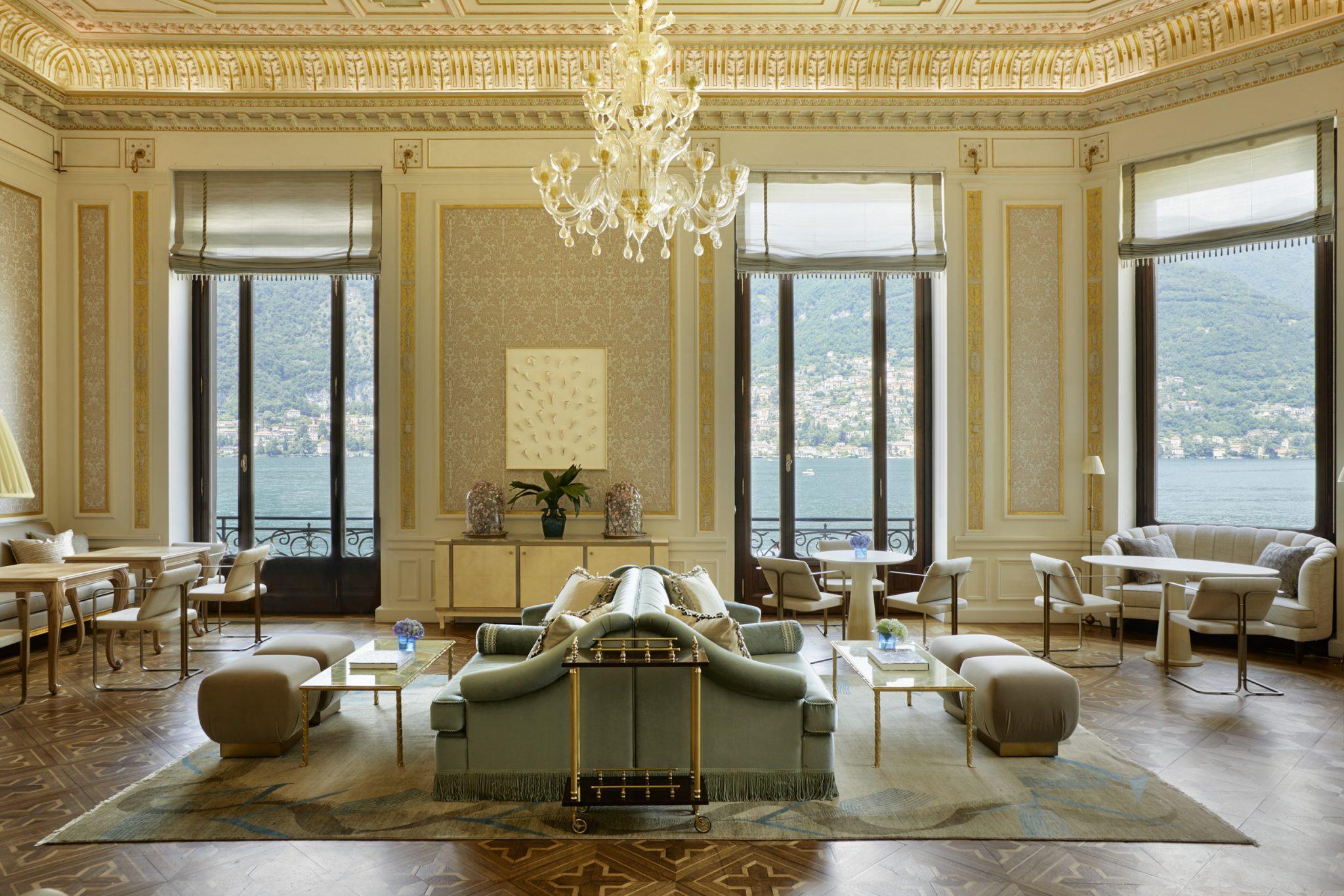 Mandarin Oriental Lake Como, Interior Design Eric Egan, Photography Ricardo Labougle