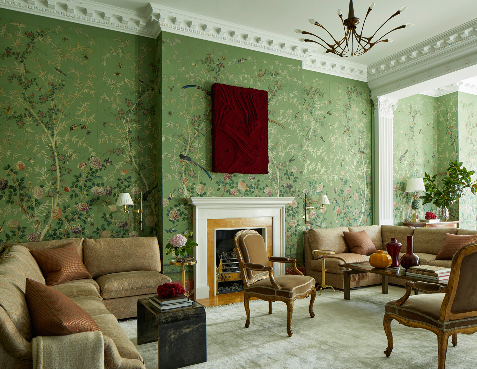 London, Kensington House, Interior Design Eric Egan, Photography Ricardo Labougle