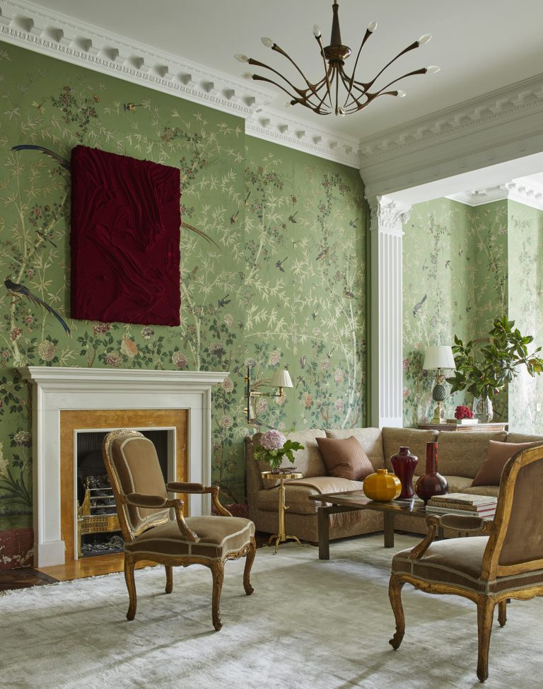 London, Kensington House, Interior Design Eric Egan,