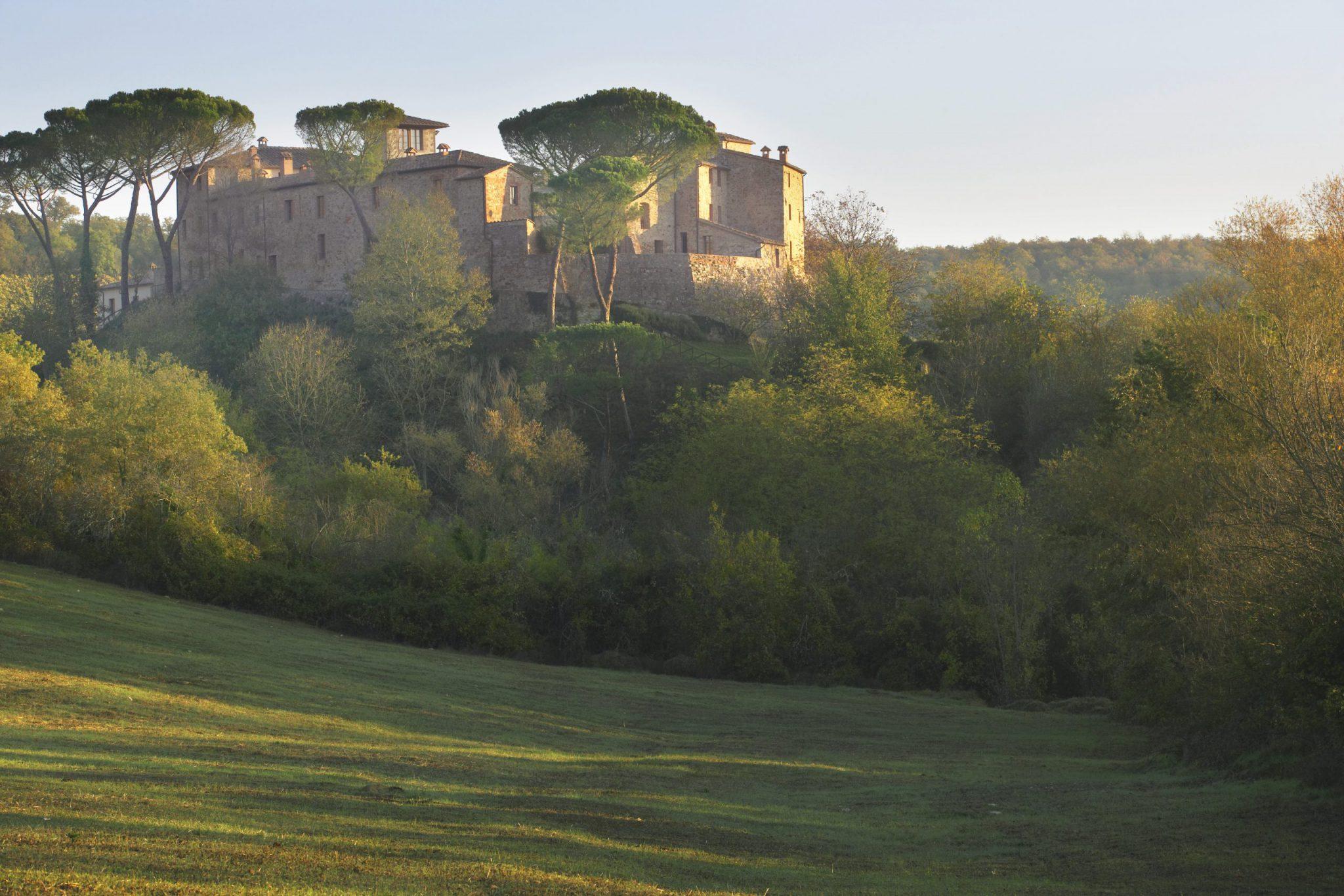 Hotel Castel Monastero Resort, Tuscany, Interior Design Eric Egan