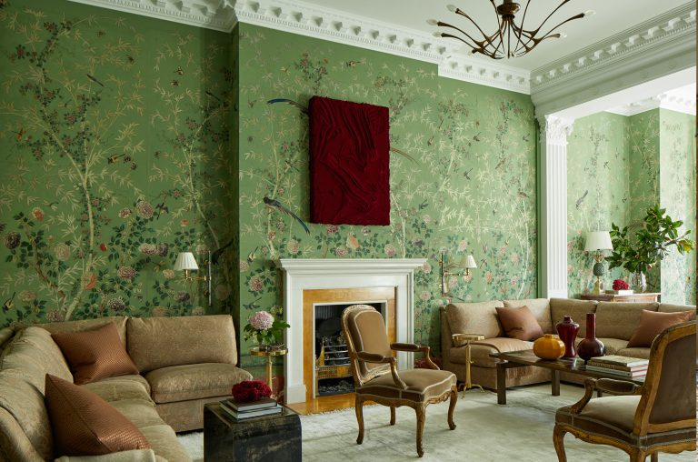 London, Kensington House, Interior Design Eric Egan, Photography Ricardo Labougle